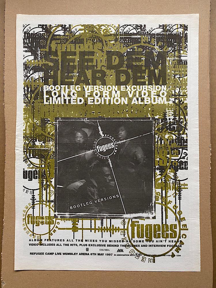 FUGEES - REFUGEE CAMP - Poster / Display
