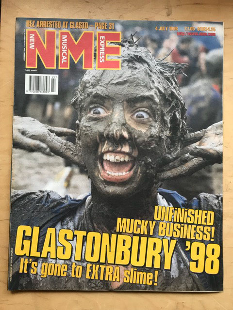 GLASTONBURY 1998 - NME - Magazine