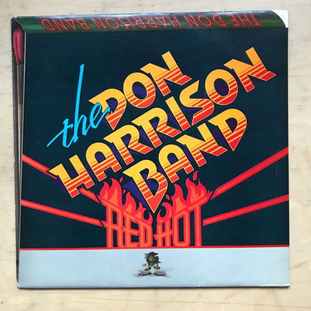 DON HARRISON BAND - Red Hot Record