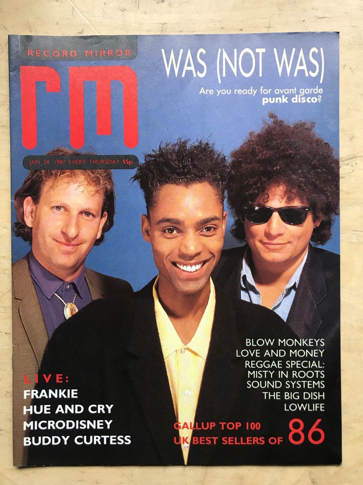 WAS NOT WAS - RECORD MIRROR
