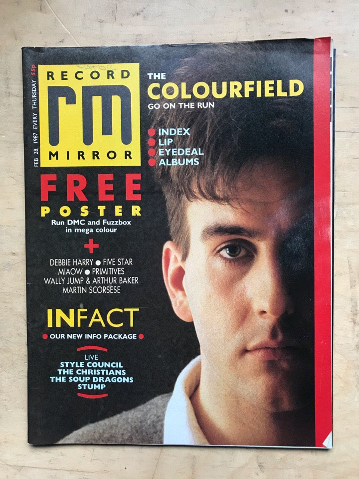 COLOURFIELD - RECORD MIRROR