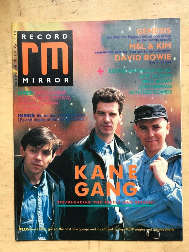 KANE GANG - RECORD MIRROR