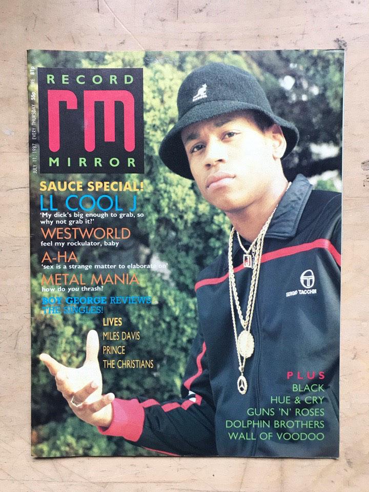 LL COOL J - RECORD MIRROR - Magazine