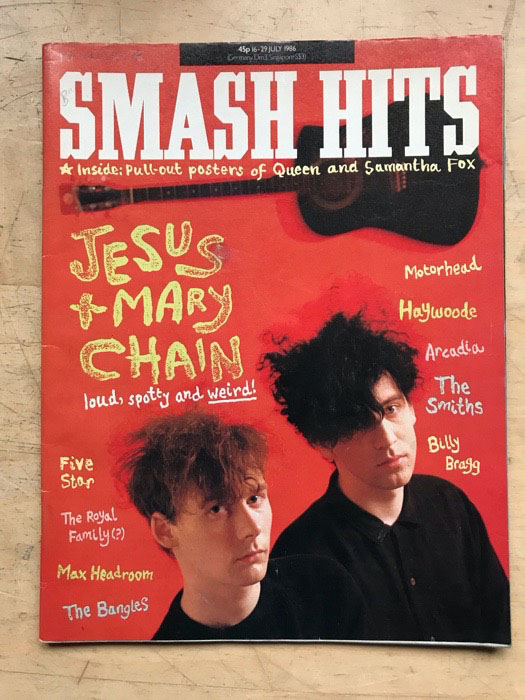 JESUS AND MARY CHAIN - SMASH HITS - Magazine