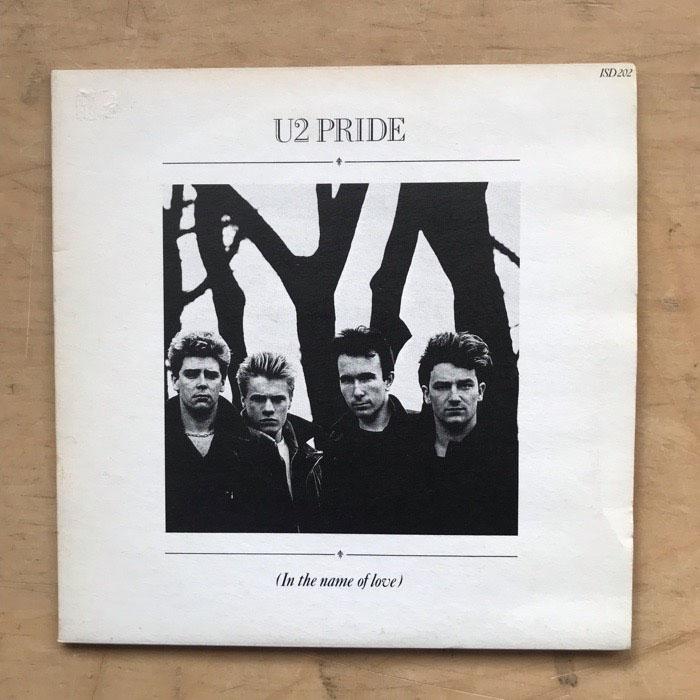 "U2 - PRIDE (2 X 7"")"