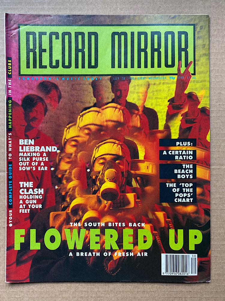 FLOWERED UP - RECORD MIRROR - Magazine