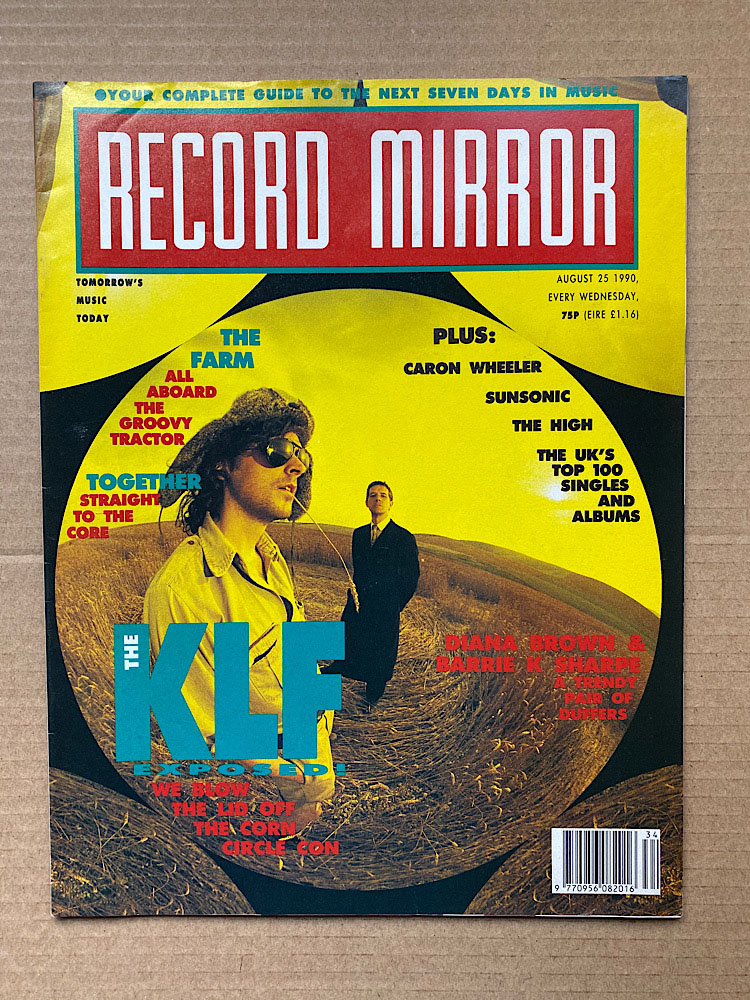 KLF - RECORD MIRROR - Magazine