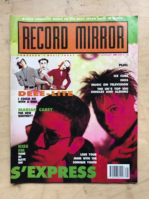 S'EXPRESS - RECORD MIRROR