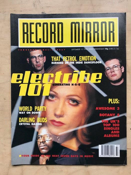 ELECTRIBE 101 - RECORD MIRROR - Magazine