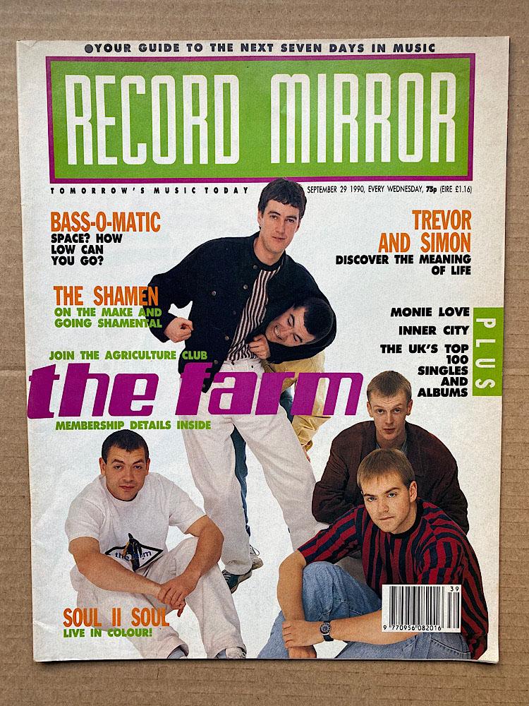 FARM - RECORD MIRROR - Magazine