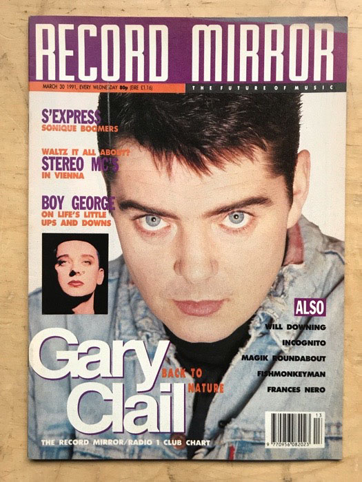 GARY CLAIL - RECORD MIRROR