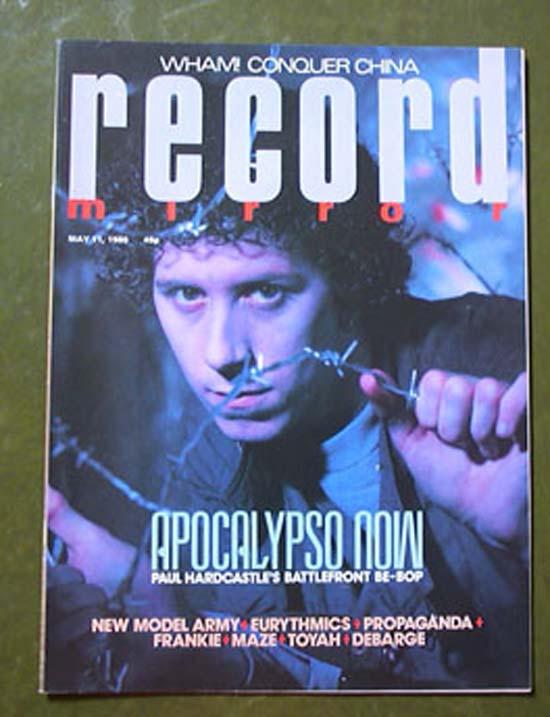 PAUL HARDCASTLE - RECORD MIRROR - Magazine