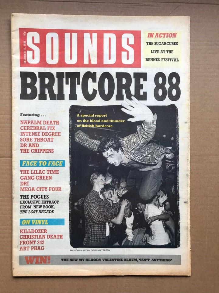 VARIOUS HARDCORE 1988 SOUNDS