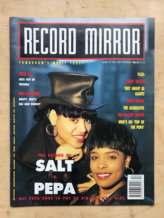 SALT N PEPA - RECORD MIRROR