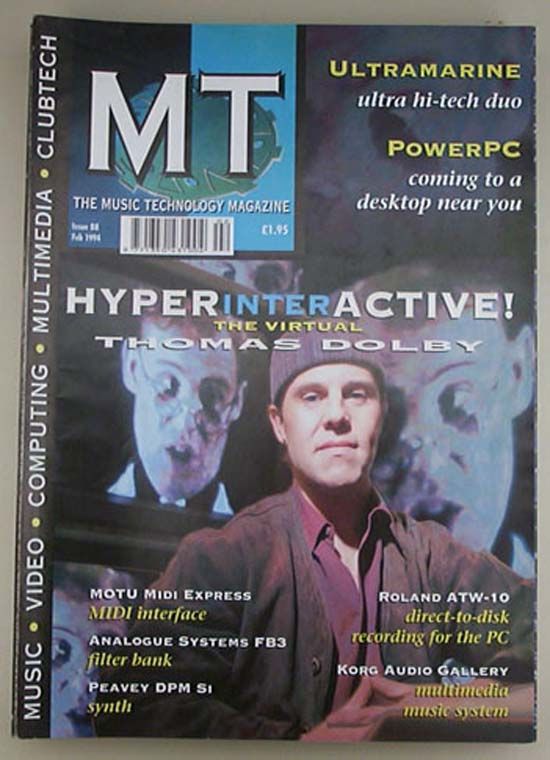 THOMAS DOLBY MUSIC TECHNOLOGY