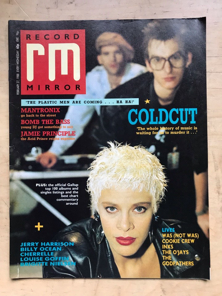 COLDCUT - RECORD MIRROR - Magazine