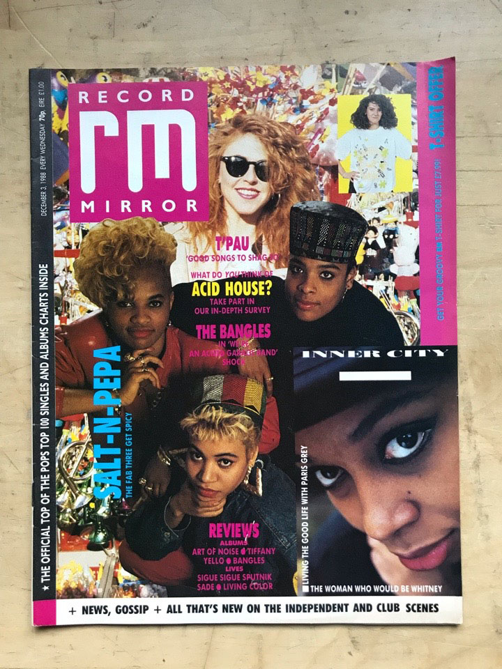 SALT N PEPA - RECORD MIRROR - Magazine