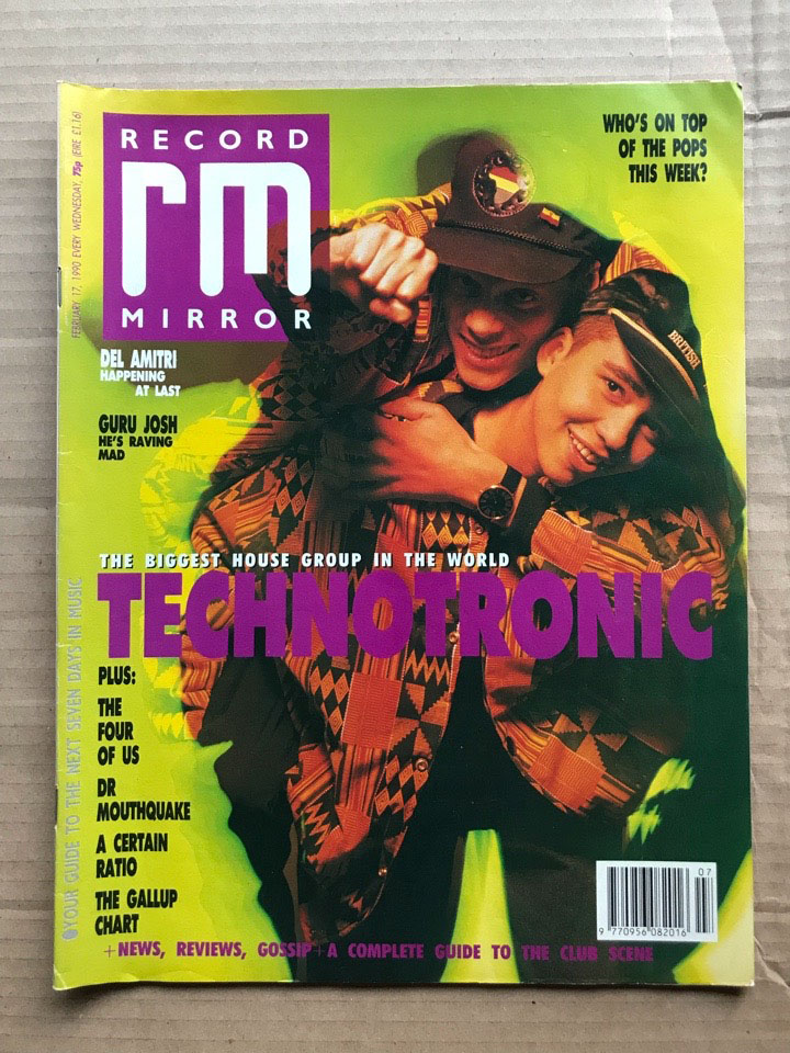 TECHNOTRONIC - RECORD MIRROR - Magazine