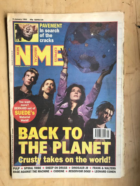 BACK TO THE PLANET - NME - Magazine