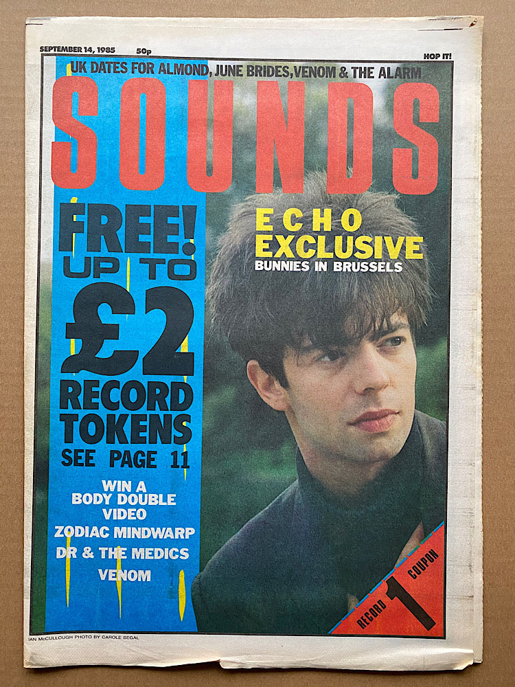 ECHO & THE BUNNYMEN - SOUNDS