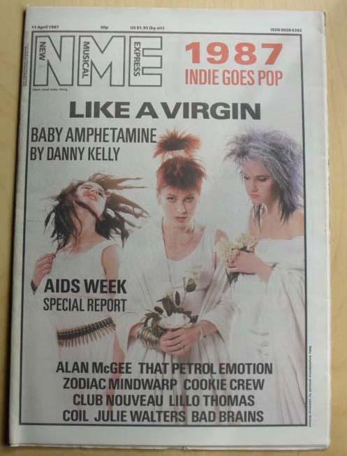 BABY AMPHETAMINE - NME - Magazine