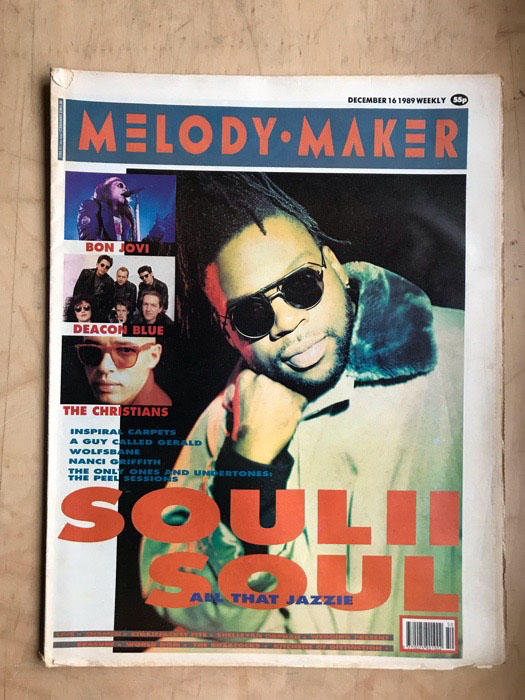 SOUL II SOUL - MELODY MAKER - Magazine