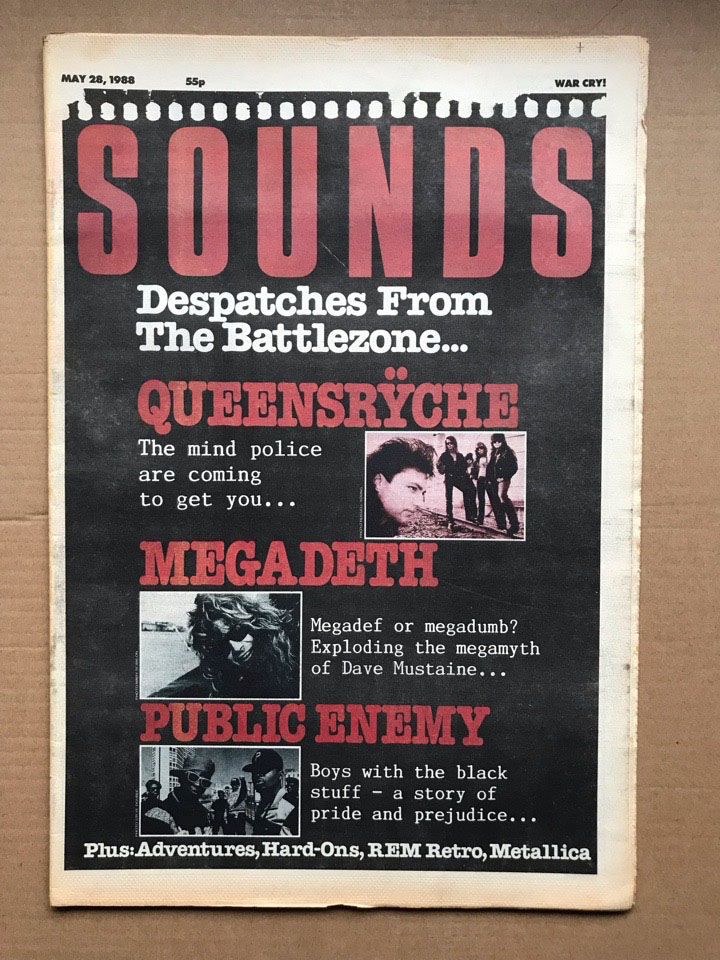 QUEENSRYCHE/MEGADETH SOUNDS