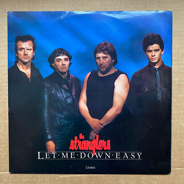STRANGLERS - Let Me Down Easy EP