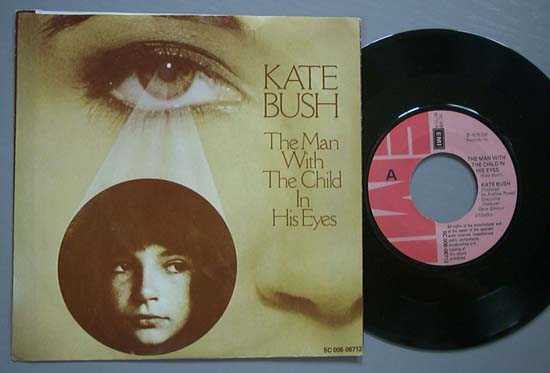 KATE BUSH - Man With The Child In His Eyes EP