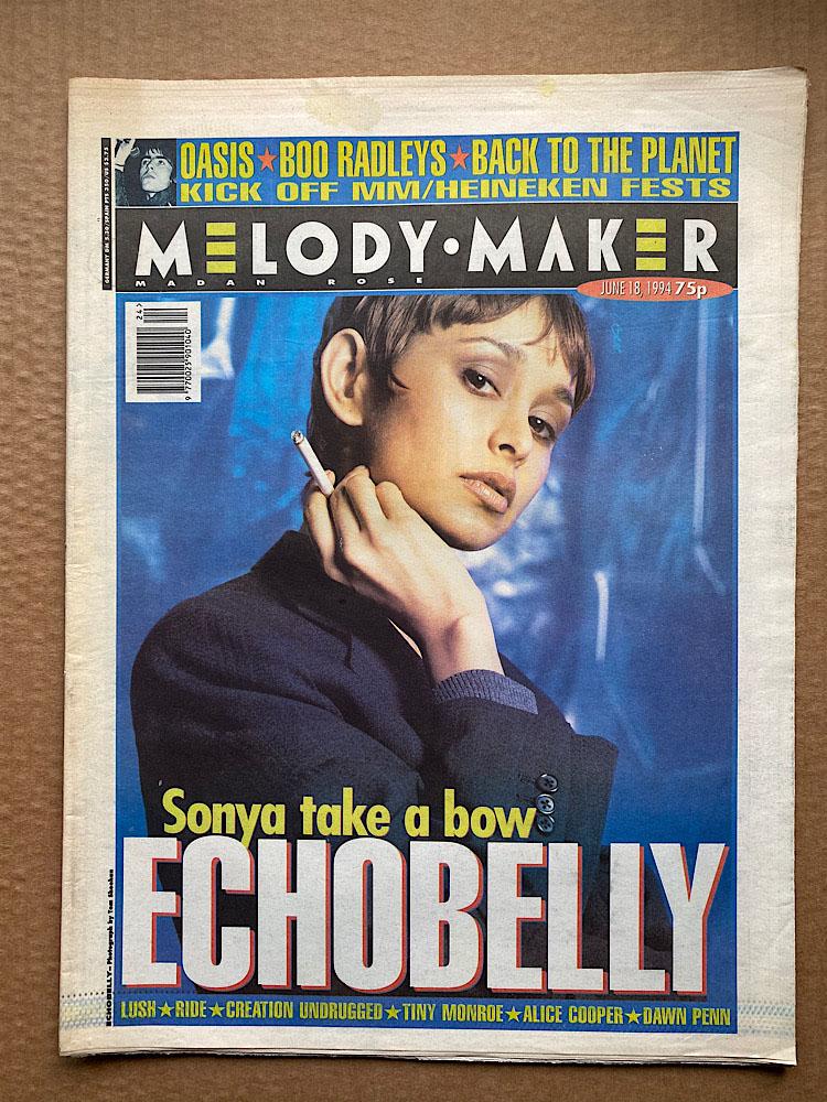 ECHOBELLY - MELODY MAKER