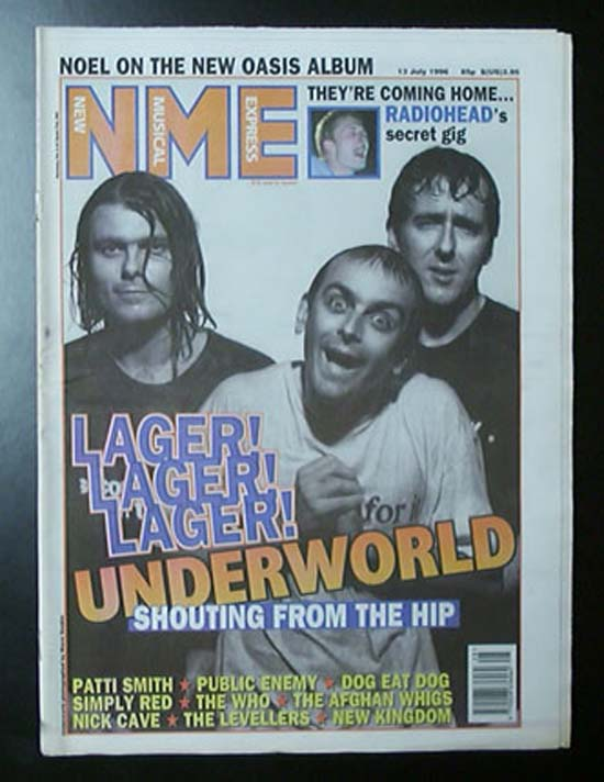 UNDERWORLD - NME - Magazine