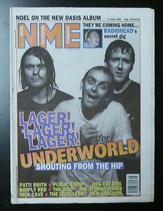 UNDERWORLD - NME - Magazine