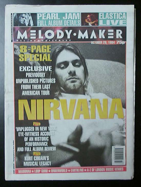 NIRVANA - Melody Maker CD
