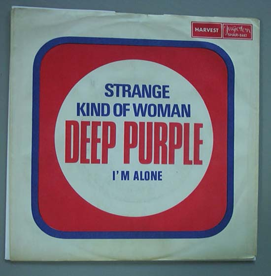 DEEP PURPLE - Strange Kind Of Woman LP