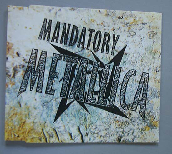 METALLICA - Mandatory