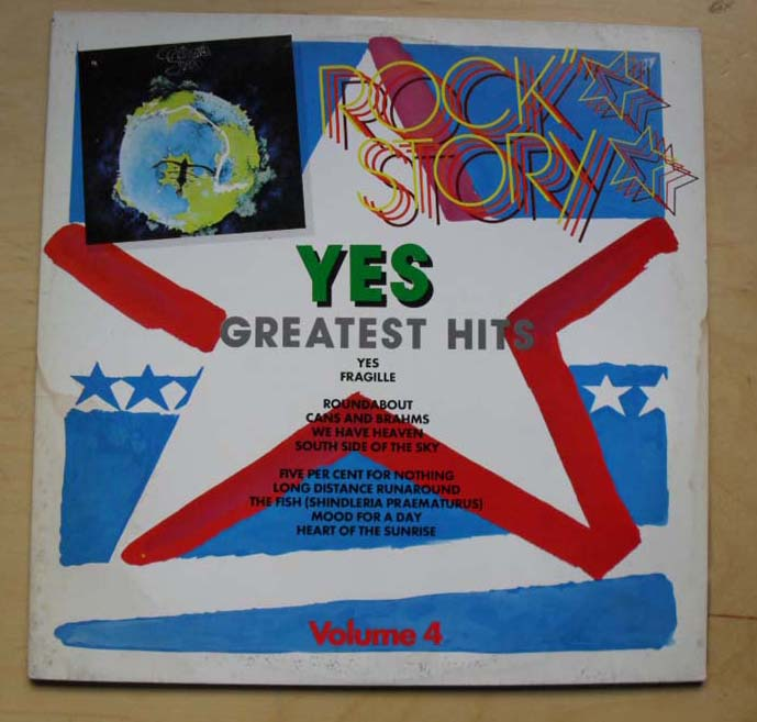 YES - GREATEST HITS VOL 4 (FRAGILE)