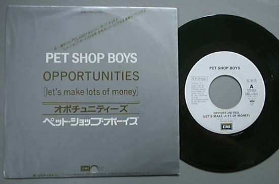PET SHOP BOYS - Opportunities (w/l)