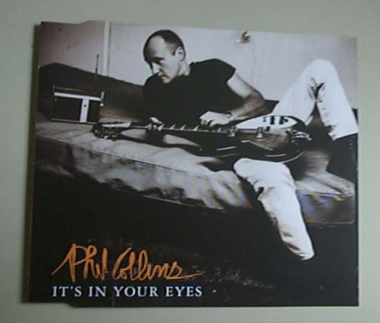 PHIL COLLINS - IT'S IN YOUR EYES - CD single